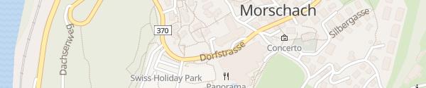 Karte swiss holiday park Morschach