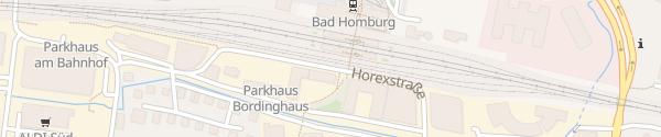 Karte Horexstraße Bad Homburg vor der Höhe