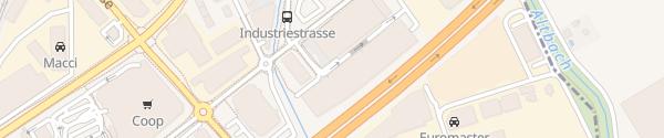 Karte IKEA Parkhaus Dietlikon