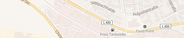 Karte Autohaus Leiber Trossingen