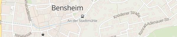 Karte KommMit - mobiler Pflegedienst Bensheim