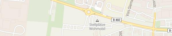 Karte Europaplatz Heppenheim