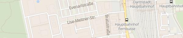 Karte Europahaus Darmstadt