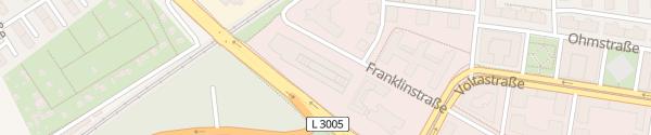 Karte Radisson Blu Frankfurt am Main