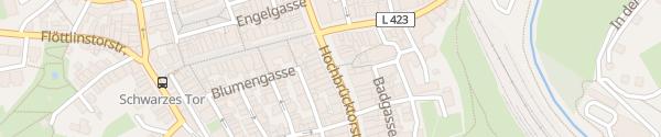Karte Innenstadt Rottweil