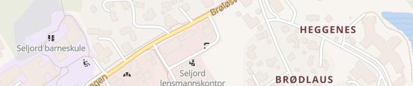 Karte Circle K Seljord