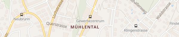 Karte MEDIPACK AG Schaffhausen