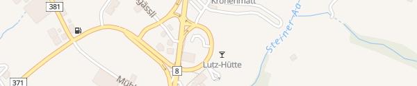 Karte Kreiselparkplatz Sattel