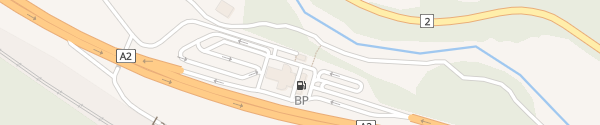 Karte Autobahnraststätte Stalvedro Airolo