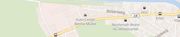 Karte Auto-Center Benno Müller Schwyz