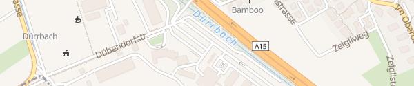 Karte EKZ Wangen bei Dübendorf