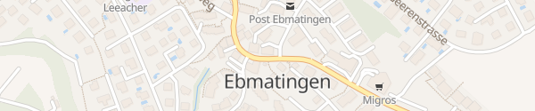 Karte Felix Unholz AG Ebmatingen