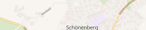 Karte Privater Ladepunkt Schönenberg