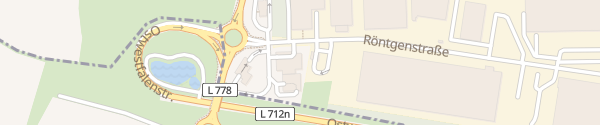 Karte Westfalen Tankstelle Herford
