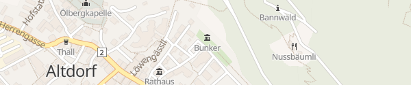 Karte Winkelplatz Altdorf