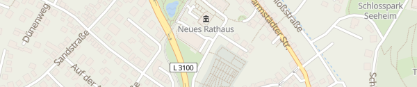 Karte Sport- und Kulturhalle Seeheim-Jugenheim