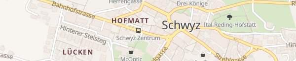 Karte Parkhaus Hofmatt Schwyz