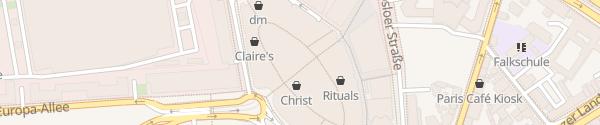 Karte Parkhaus Skyline Plaza Frankfurt am Main