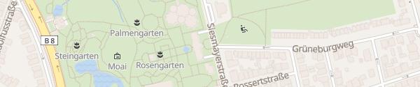 Karte Palmengarten Frankfurt am Main