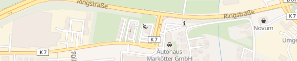 Karte Burger King Füllenbruchstraße Herford