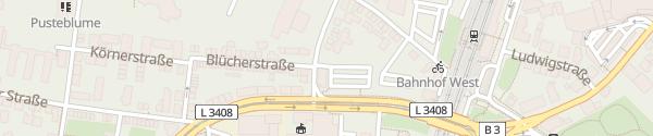Karte Hallenbad HaWei Weinheim