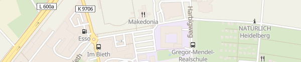 Karte SKG Heidelberg-Kirchheim Heidelberg