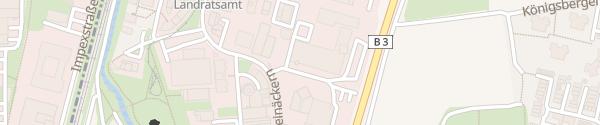Karte Einrichtungshaus Weckesser Wiesloch