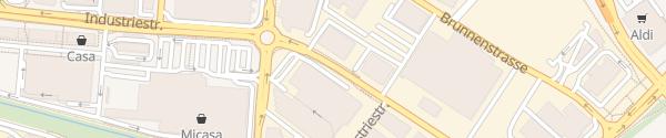 Karte Siemens Volketswil