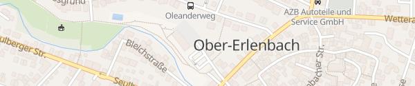 Karte Josef-Baumann-Straße Bad Homburg