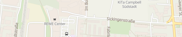 Karte Sickingenstraße Heidelberg