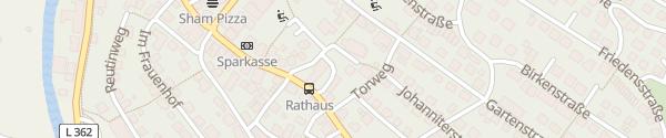 Karte Rathaus Ebhausen