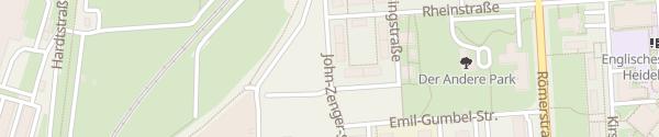 Karte Wohnprojekte Hagebutze Konvisionär Heidelberg