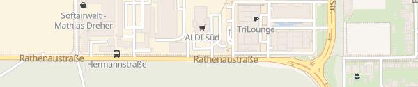Karte ALDI Süd Neu-Isenburg