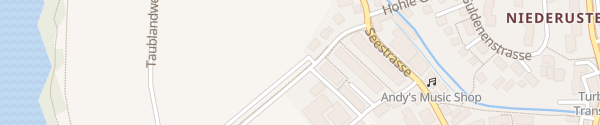Karte Parkplatz Seeweg Uster