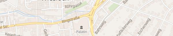 Karte BEST WESTERN PLUS Palatin Wiesloch