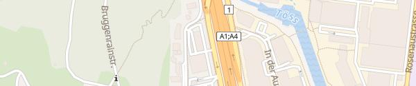 Karte AMAG Winterthur