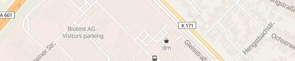 Karte ALDI Süd Dreieichenhain Dreieich