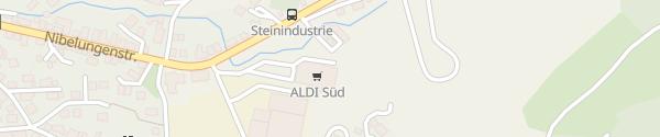 Karte ALDI Süd Lautertal (Odenwald)