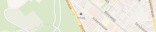 Karte AMAG Uster Uster