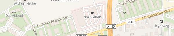 Karte Lidl Gießen