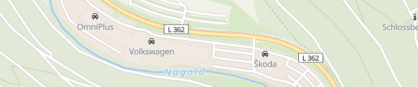Karte Autohaus Wackenhut Nagold