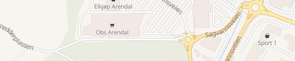 Karte Coop Obs Arendal