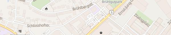 Karte Hotel ibis Budget Winterthur