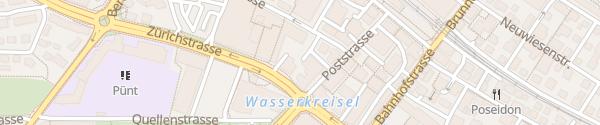 Karte Parkplatz Fust Uster