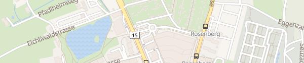 Karte Migros Rosenberg Winterthur
