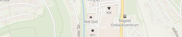 Karte Aldi Süd Haiterbacher Straße Nagold
