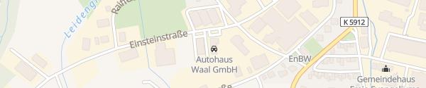 Karte Autohaus Ewert Spaichingen