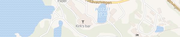 Karte Gaustablikk Høyfjellshotell Rjukan