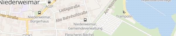 Karte Gemeindeverwaltung/Rathaus Weimar (Lahn)