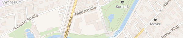 Karte Tiefgarage Stadthalle Vilco Bad Vilbel